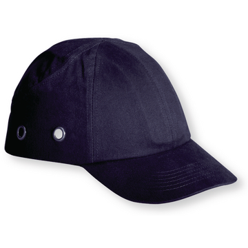 Baseball bump cap, blue